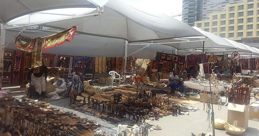 Street market in Windhoek   © Auchab / WikiCommons