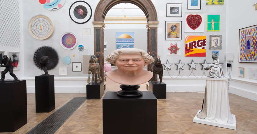 Gallery view of the 250th Summer Exhibition at the Royal Academy of Arts, 2018