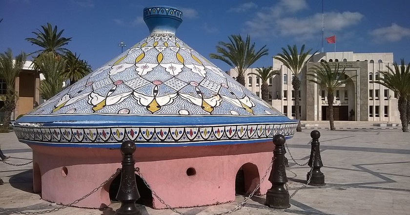 Biggest tagine in the world in Safi, Morocco | © Alamicommons / WikiCommons
