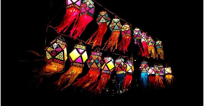 Traditional Diwali lanterns   © Ramnath Bhat/WikiCommons