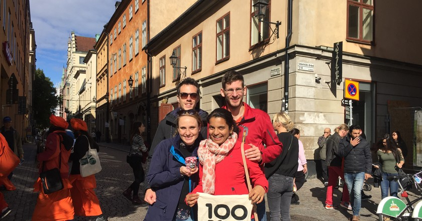 The 100 Point Challenge is a unique way to see the city | Courtesy of 100 Point Challenge