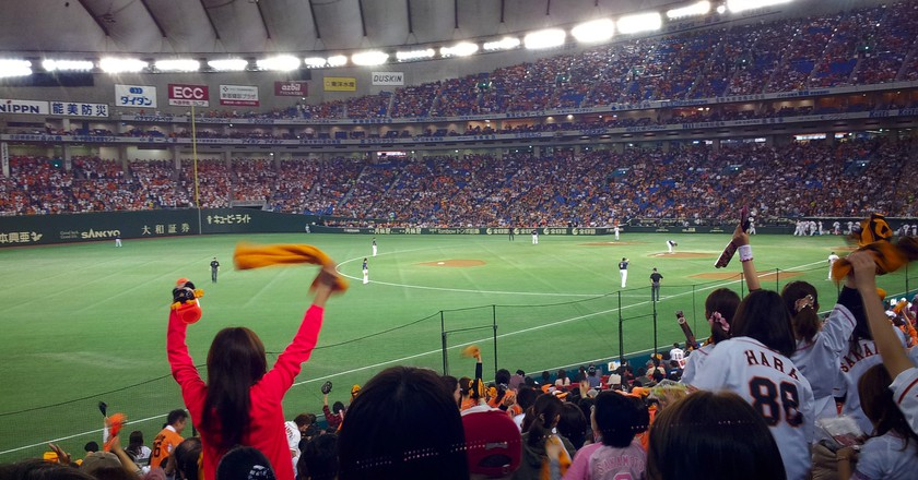 A full house at Tokyo Dome