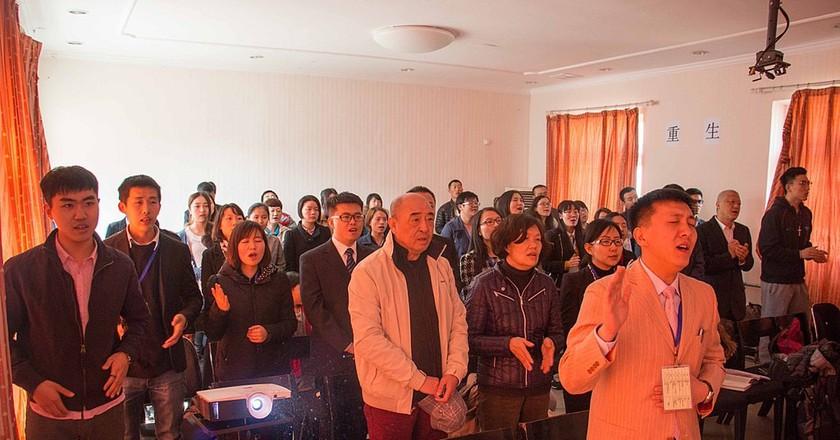 An underground church in Shunyi, Beijing | © Huang Jinhui / WikiCommons