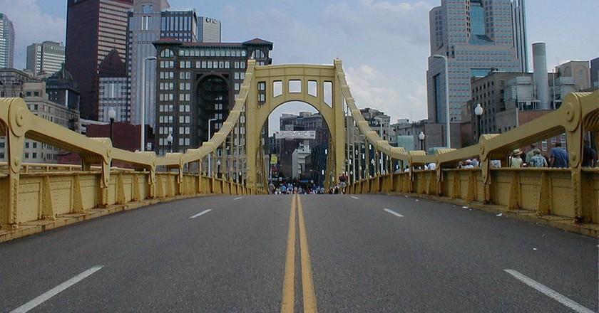 Roberto Clemente Bridge, Pittsburgh | © jon144k / WikiCommons