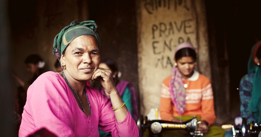 Women's self-help group in rural India | © Department of Foreign Affairs and Trade / Flickr