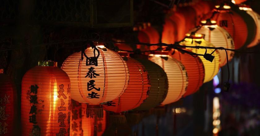 Lanterns in Taipei | © Romain Pontida / Flickr