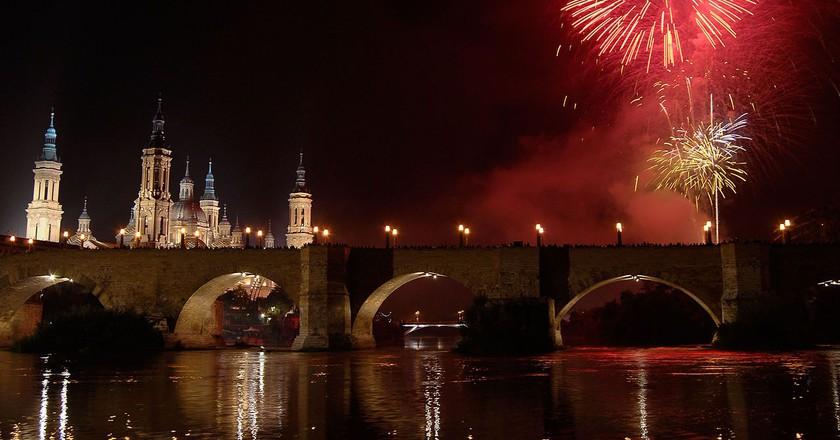 Fiestas del Pilar, Zaragoza   © jesus martinez / WikiCommons