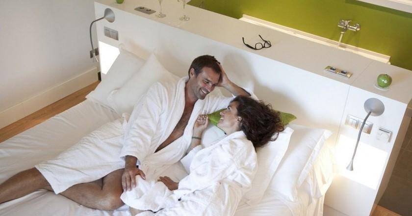 Couple in Artiem Audax   Courtesy of Artiem Hotels