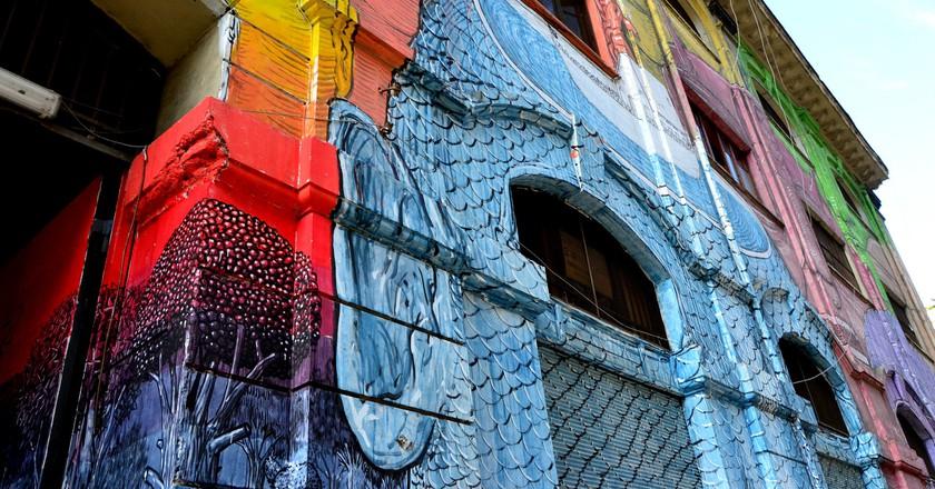 Ostiense is well known for its vibrant street art | © Fiammetta Bruni/Flickr