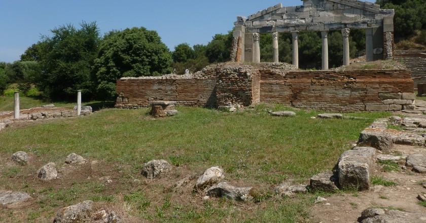 Apollo's temple, Apollonia   © Monika/Flickr