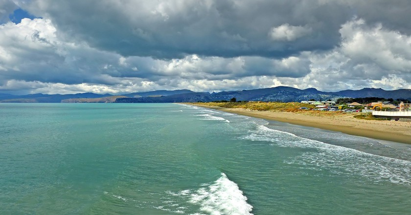 New Brighton Beach, Christchurch, New Zealand   © Bernard Spragg/Flickr