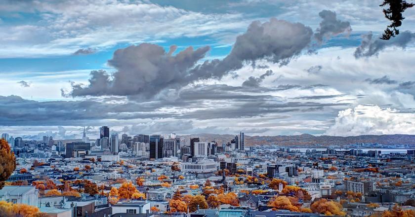 Weather over San Francisco - Infrared | © trophygeek/Flickr