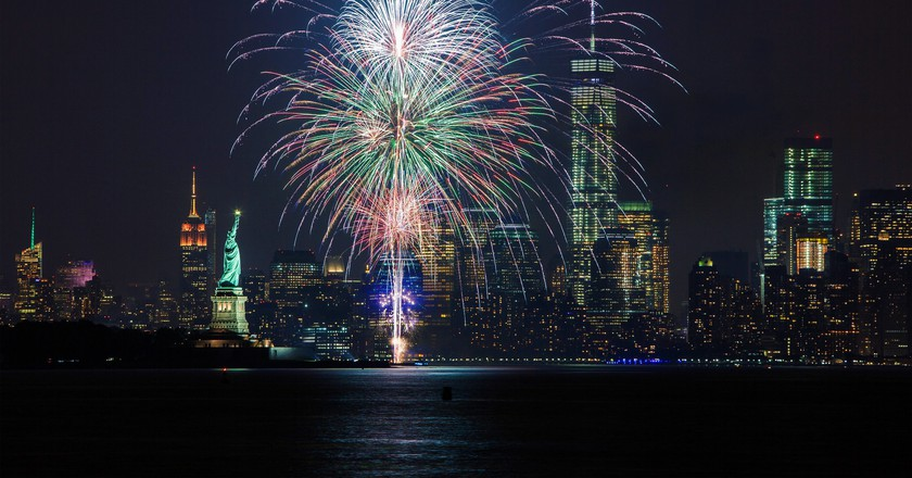 Fireworks in NYC | © Anthony Quintano / Flickr