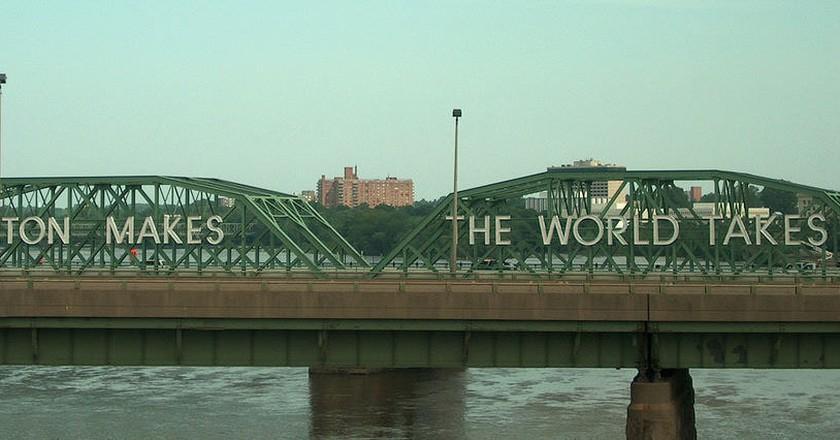 The Delaware River Bridge