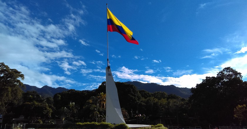 Colombia Flag | © Edgar Jimenez | Flickr