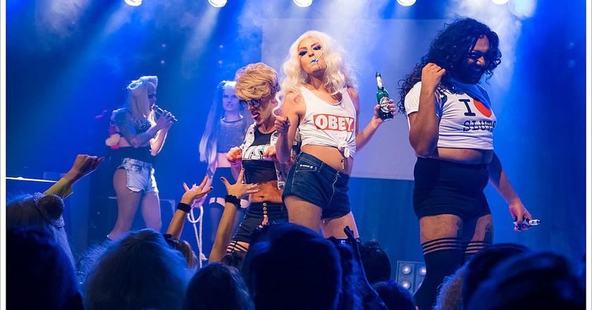 Berlin Drag Queens at Lady Gaga Party   © Montecruz Foto/Flickr
