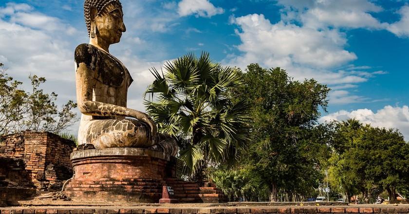 Buddha statue in Thailand | © Ninara / Flickr