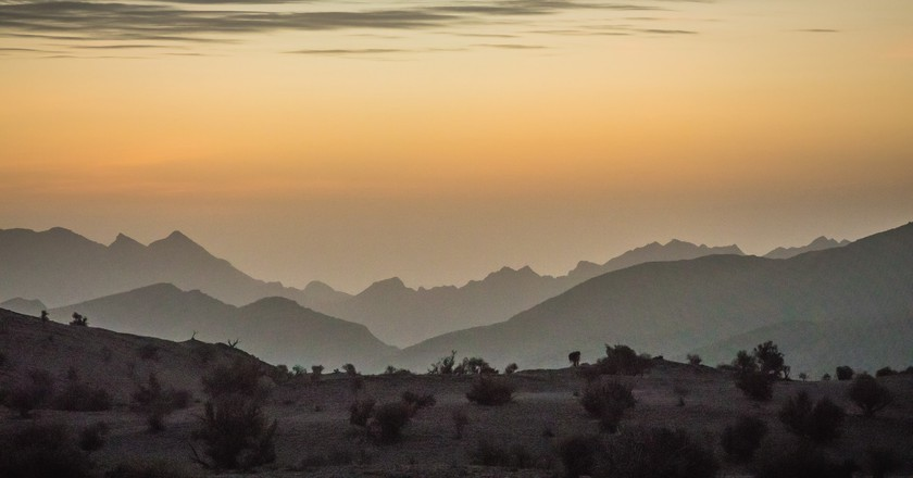 Sunrise on Al Jebel Al Akhdar I © Robert Haandrikman / Flickr