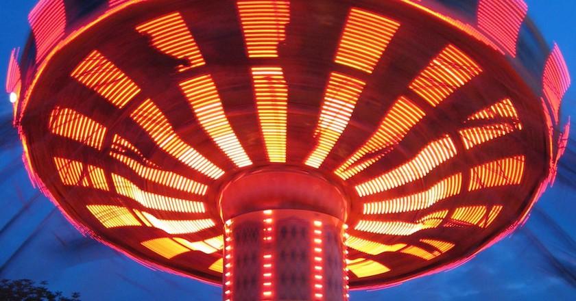 Kings Island Amusement Park | © Eli Duke / Flickr
