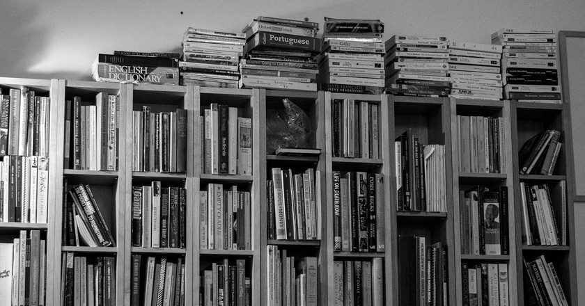 Book Shelf | © Nick Vidal-Hall/Flickr