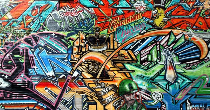Cincinnati graffiti