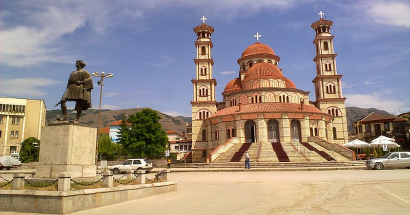 The Orthodox Cathedral of Korça