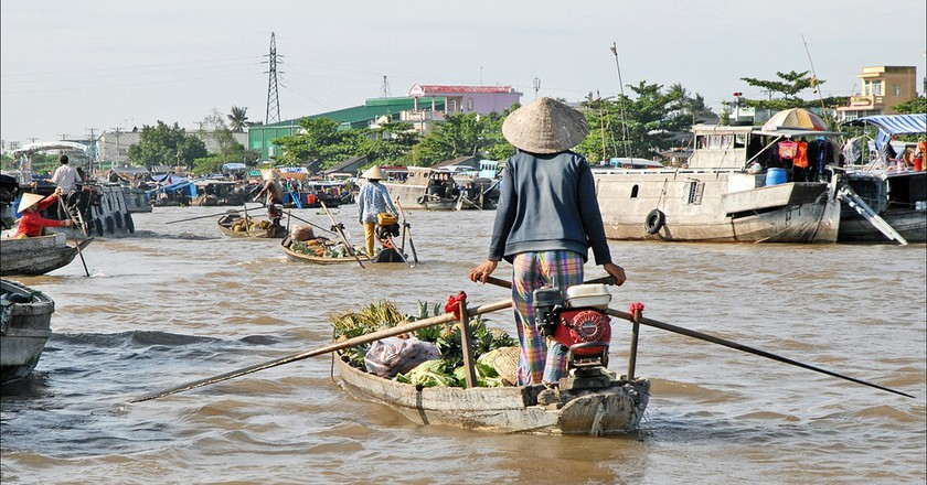 Floating market | © Jean-Pierre Dalbera/Flickr