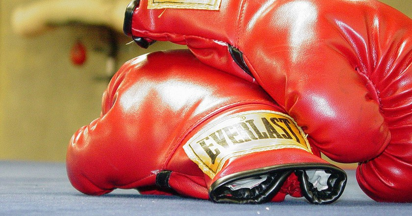 Put on your boxing gloves and head to Leo Berry's Gym