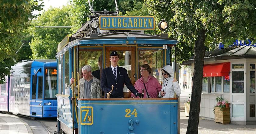 The Djurgarden line is one of Stockholm's unique attractions | © Alexandar Vujadinovic / WikiCommons