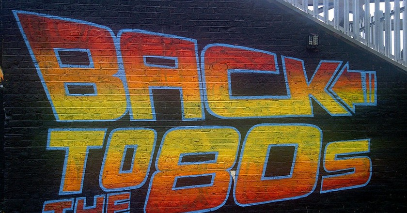 Back To The 80s artwork by street artists Graffiti Life in Brick Lane © Bablu Miah/Flickr