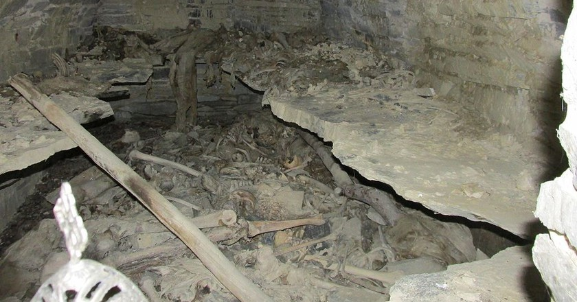 The tombs | © Surprizi / WikiCommons