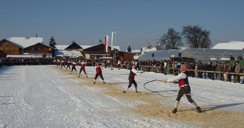 Aperschnalzen in Southern Germany | © Drsweeny / WikiCommons