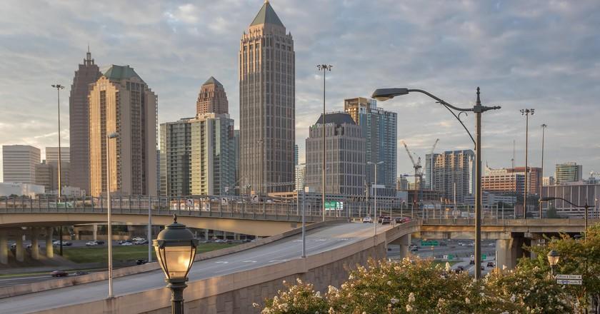 Skyine of Midtown Atlanta
