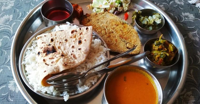 Goa's famous fish thali | © Lucy Plummer