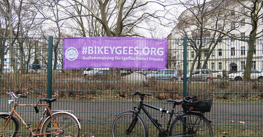 Bikeygees, the NGO teaching women to cycle   © Alice Dundon