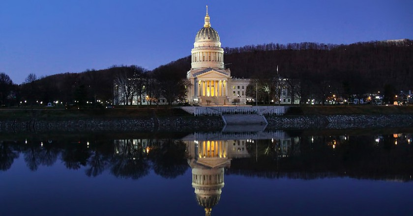 The West Virginia State Capitol Building in Charleston, WV | © O Palsson / Flickr