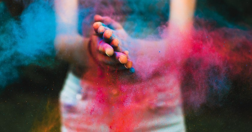 Make your own Holi colours | © cigi__ / Pixabay