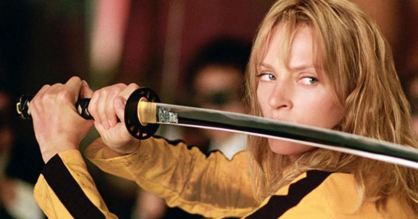Uma Thurman in 'Kill Bill, Vol. 1'   © Miramax Films