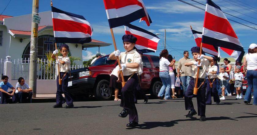 Costa Rican pride | © Bruce Thomson/Flickr