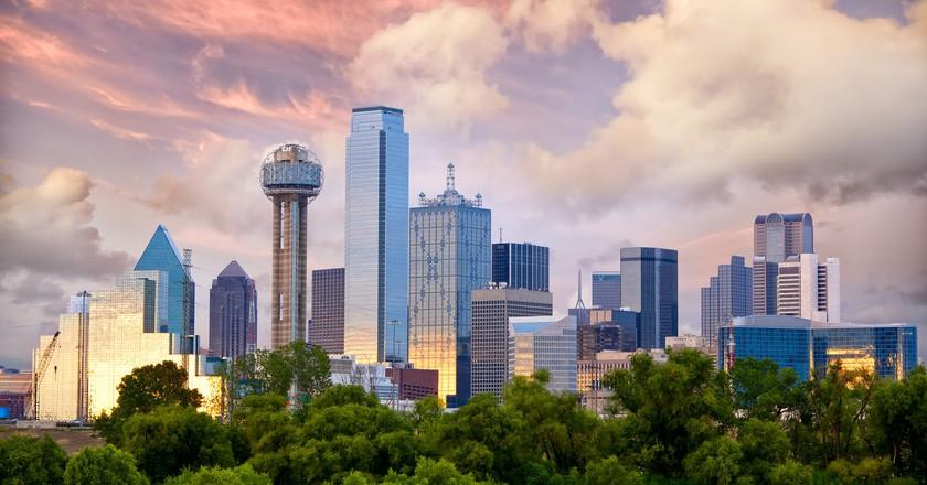 Dallas Skyline │ Courtesy of VisitDallas