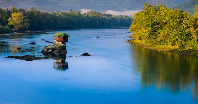 The gorgeous House on the Drina