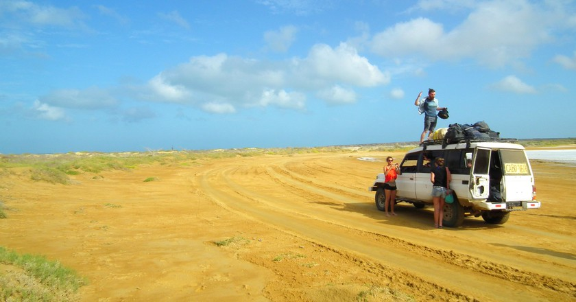 Travelling in La Guajira, Colombia