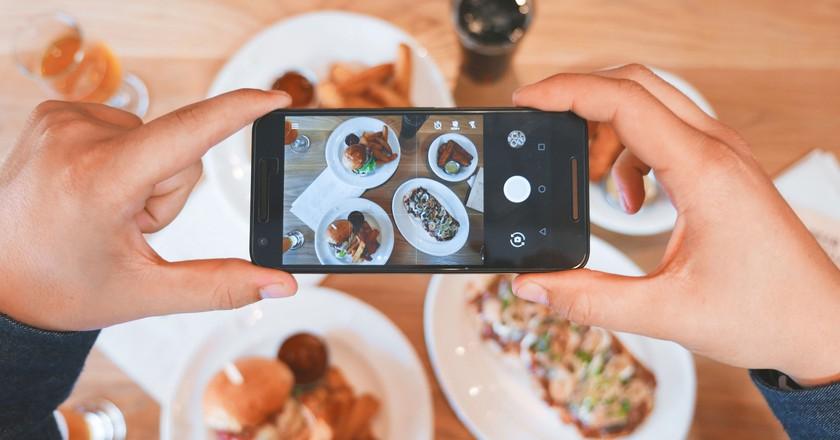 Instagram food shot | © Eaters Collective/Unsplash