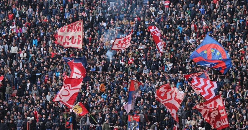 The passionate fans of Red Star Belgrade | © george_nick/Pixabay
