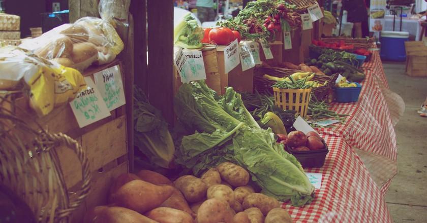 Orlando Farmers' Market, Lake Eola