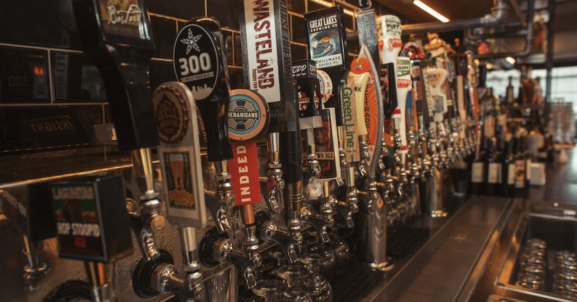 The Howe's 40 Beers on Tap Include Local Favorites | Courtesy of The Howe Daily Kitchen & Bar