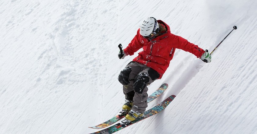 A skier | © Up-Free / Pixabay