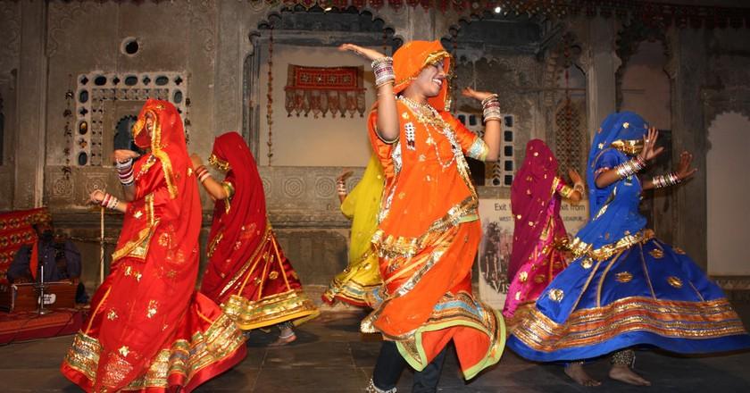 Ghoomar performed by the Bhil tribal women