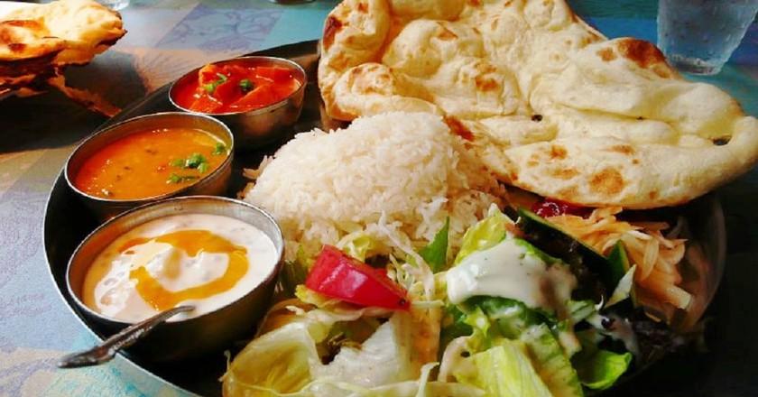 Indian thali | © GracinhaMarco Abundo /Wikimedia Commons