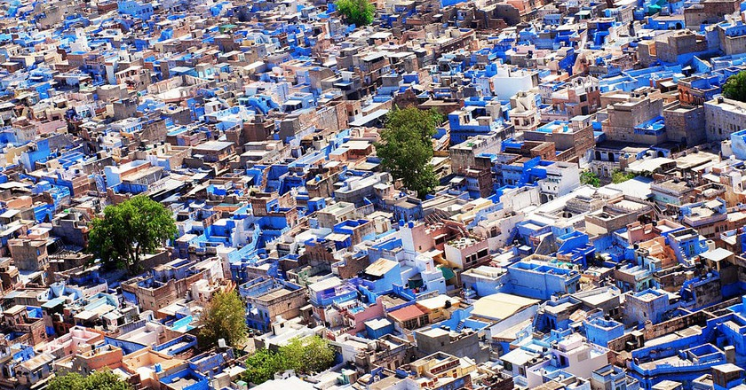 Old Town of Jodhpur in Blue Hues | © Marc Hoffmann / Wikimedia Commons